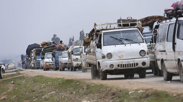الأمم المتحدة: نزوح نصف مليون شخص خلال شهرين في شمال غرب سوريا