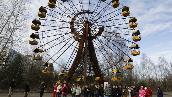 Колесо обозрения — один из символов города