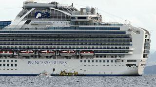 Ci sono due navi da crociera in quarantena a Yokohama e Hong Kong