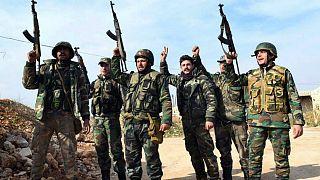 سربازان ارتش سوریه
