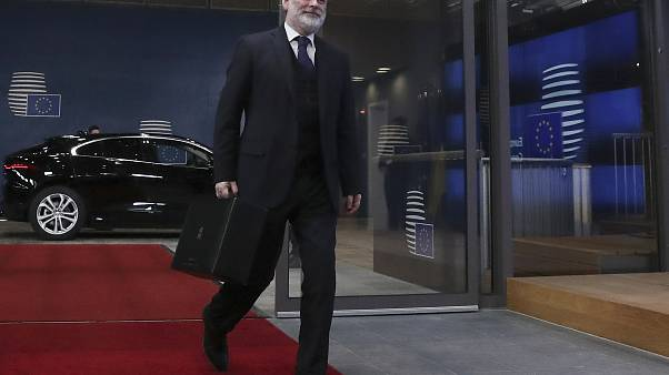 Sir Tim Barrow, the UK's ambassador to the EU, in Brussels on January 29, 2020.