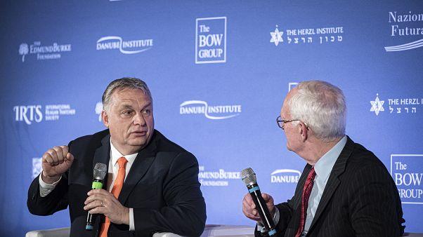 Orbán: én vagyok az egyetlen szerencsés, aki kimondhatja, amit gondol