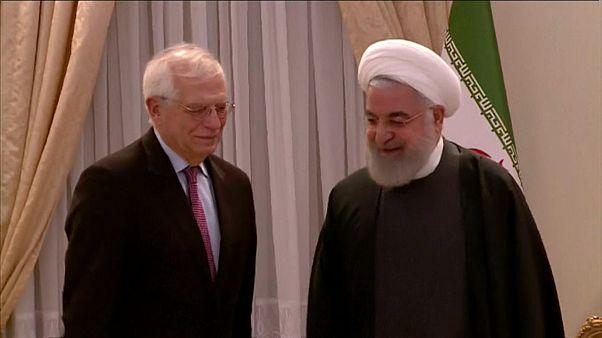 EU-Außenbeauftragter Borrell kritisiert in Iran Trumps Nahost-Pläne