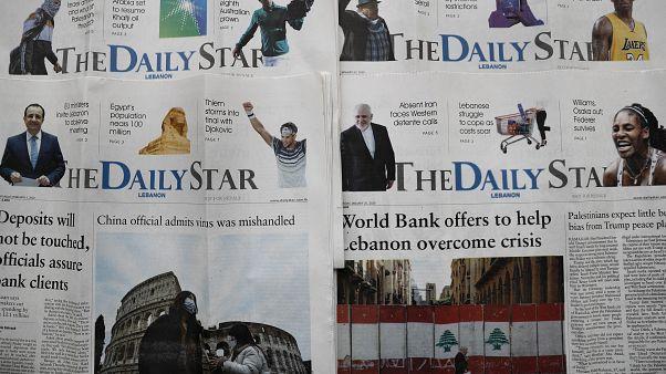 الأزمة الاقتصادية تلقي بظلالها على وسائل الإعلام في لبنان