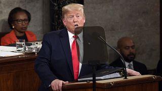 Дональд Трамп рассказал Конгрессу о положении в стране