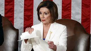 Presidente da Câmara dos Representantes rasga discurso do Presidente dos EUA