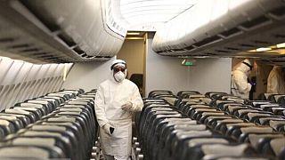 هواپیما حامل دانشجویان ایرانی از چین