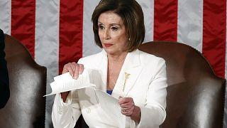 ABD Temsilciler Meclisi'nin Demokrat Partili Başkanı Nancy Pelosi