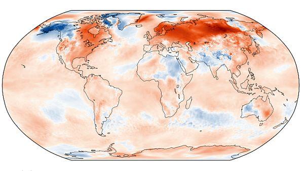 Records de températures battus en janvier en Europe