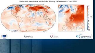Janeiro bateu recorde de temperatura para a época