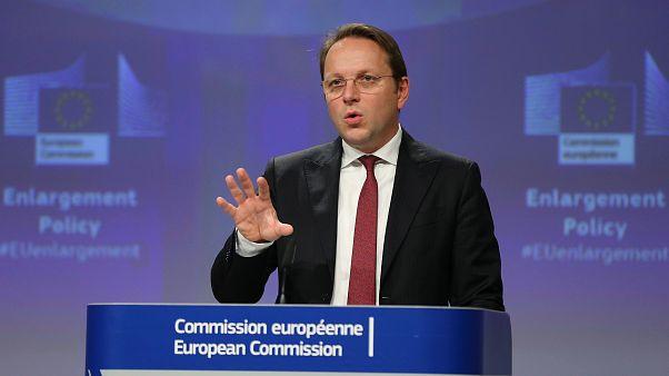 AB Komisyonu'nun Genişlemeden Sorumlu Üyesi Oliver Varhelyi
