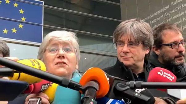 La independentista catalana Clara Ponsatí se acredita como eurodiputada