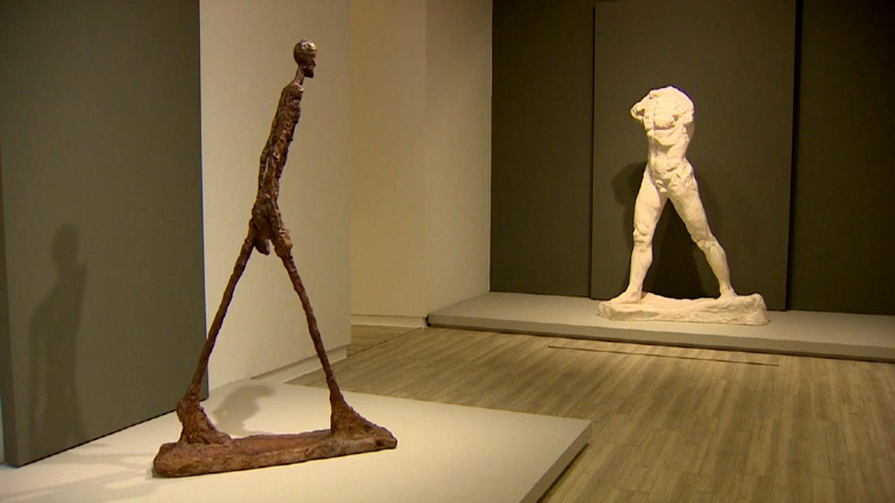 Cruce de caminos entre Rodin y Giacometti