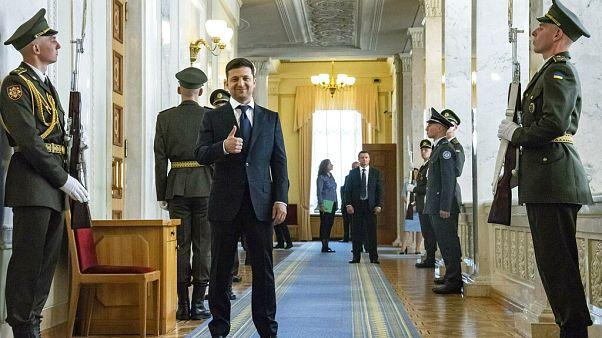 Útépítésre és egészségügyre költené az oroszoktól szerzett pénzt az ukrán elnök
