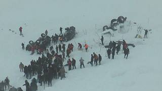 Avalanche in Turkey wipes out rescue team