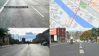 Mobiltelefonokkal hekkelte meg a Google Maps-et egy német művész
