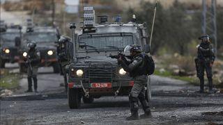 صورة أرشيفية للجيش الإسرائيلي في مدينة رام الله
