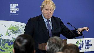 رئيس الحكومة البريطانية، بوريس جونسون