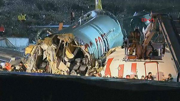 Boeing fuori pista a Istanbul, 120 feriti