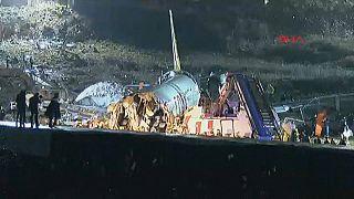 Un muerto y más de 150 heridos en un accidente aéreo en Turquía