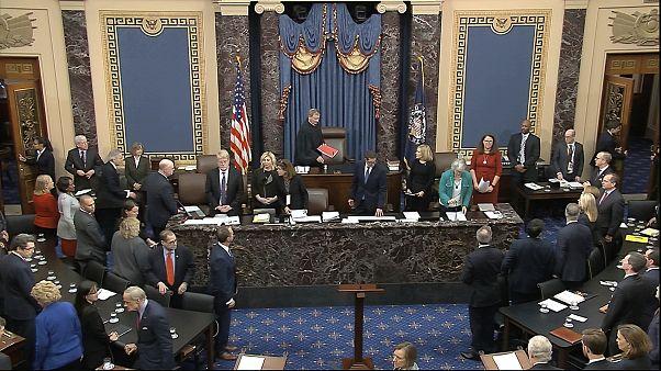 Сенат Конгресса США оправдал Дональда Трампа по обеим статьям импичмента