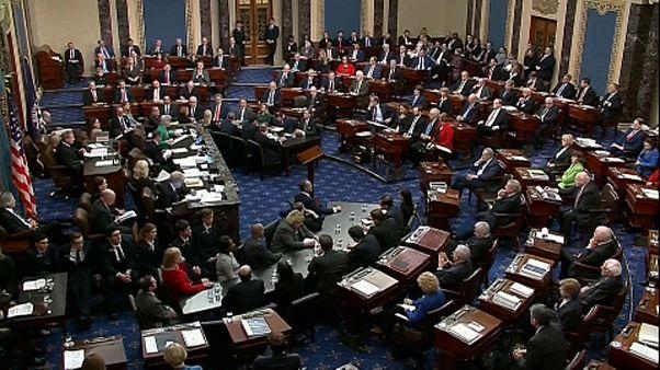 Mindkét vádpontban felmentette Donald Trumpot a szenátus