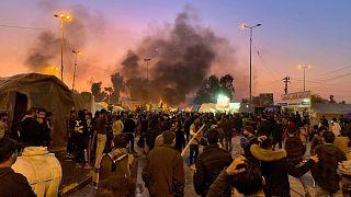 Irak'ın Necef kentindeki eylemlerde en az 6 kişi hayatını kaybetti