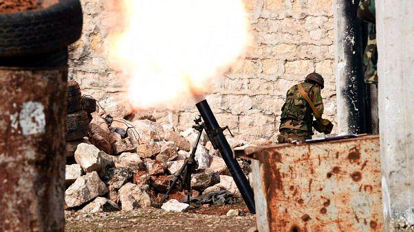 Rusya ve Suriye, Türkiye'ye rağmen İdlib'de ilerlemeye devam ediyor, Serakib 'kuşatıldı'
