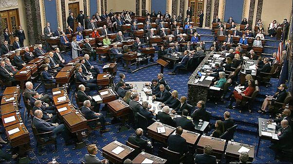 دو ماده استیضاح در سنای آمریکا رای نیاورد؛ ترامپ در کاخ سفید میماند