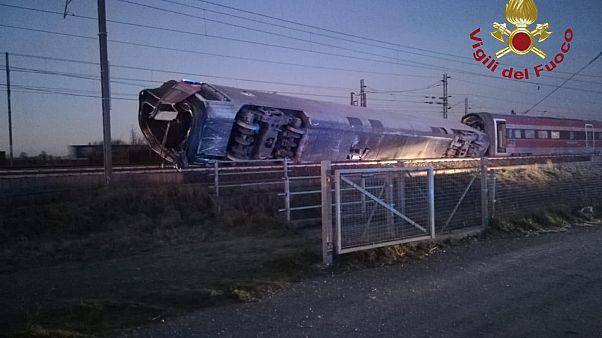 Hochgeschwindigkeitszug bei Mailand entgleist: 2 Tote, mehrere Verletzte