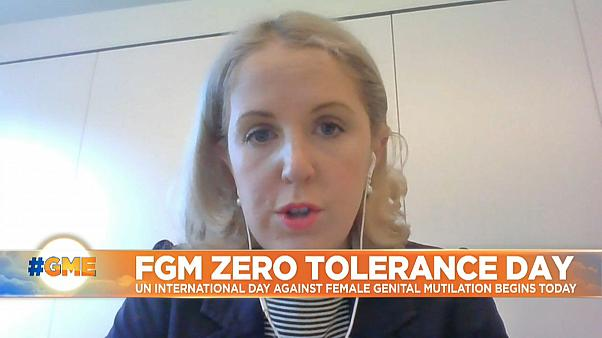Fiona Coyle from the End FGM European Network speaking to Euronews