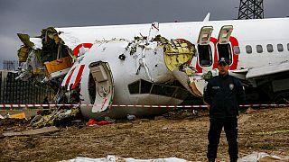 Τρεις νεκροί και δεκάδες τραυματίες από το αεροπορικό δυστύχημα στην Κωνσταντινούπολη