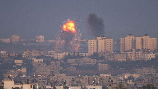 İsrail'in hava saldırısı