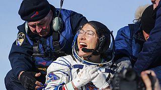 Visszatért a Földre a női űrutazás új csúcstartója