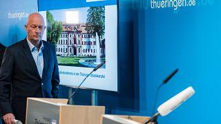 استقالة رئيس وزراء مقاطعة ألمانية اثر عاصفة سياسية تلت فوزه بأصوات من اليمين المتطرف