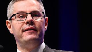 FILE PHOTO: October 09, 2018 Derek Mackay, then Scotland's Minister for Finance and the Constitution and SNP MSP