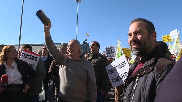 """El campo español estalla: """"Queremos precios justos"""""""