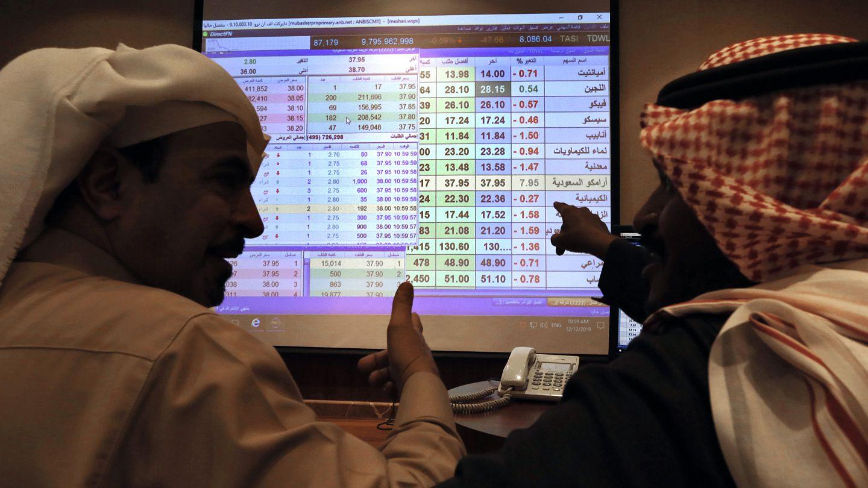 خسائر كبرى في بورصات الخليج وسهم أرامكو يخسر 10 بالمئة من قيمته : Euronews