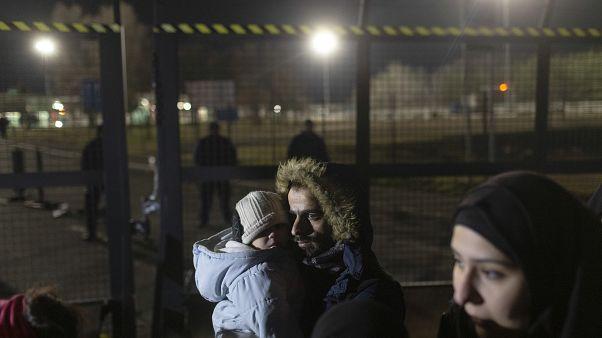 'Open borders!': 200 migrants stuck at Serbia-Hungary border demand EU entry