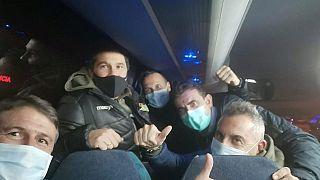 Coronavirus: Spanish evacuees tell of life in quarantine through Whatsapp