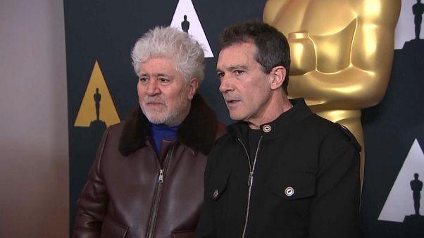 Almodóvar y Banderas, ¡a por el Óscar!