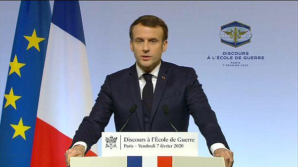 """Macron: Französische Atomwaffen """"verstärken Sicherheit Europas"""""""
