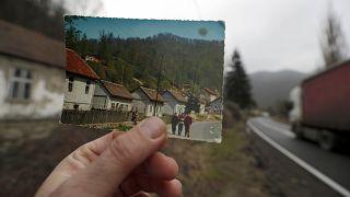 Sırbistan'ın Blagojev Kamen köyünün 50 yıl önceki hali