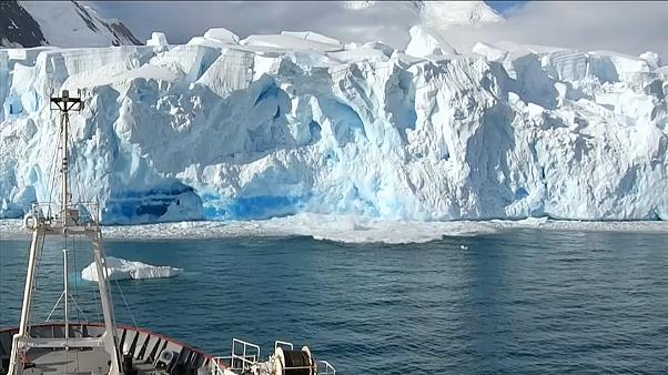 Rekord in der Antarktis: 18,3 Grad