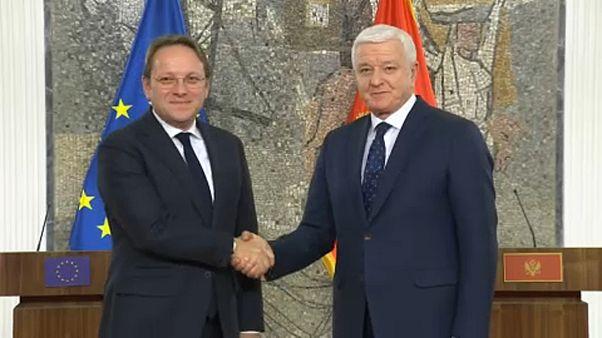 Reformokat és a jogállamiság megerősítését kérte Montenegrótól Várhelyi Olivér