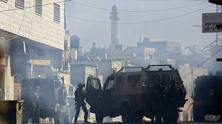 صورة لعناصر الجيش الإسرائيلي في الضفة الغربية