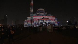 رقص رنگ و آهنگ در جشن نور شارجه