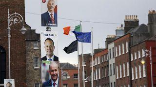 Empate electoral en Irlanda entre los tres principales partidos