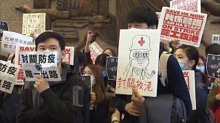 ویروس کرونا؛ اعتصاب کارکنان بیمارستانی در هنگکنگ