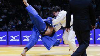 Las superestrellas del judo iluminan el Grand Slam de París